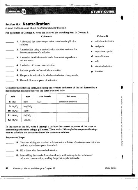 Answers Study Guide For Content Mastery