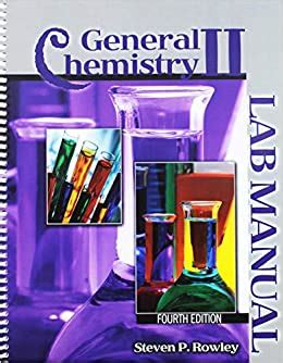 Answers To General Chemistry Ii Lab Manual