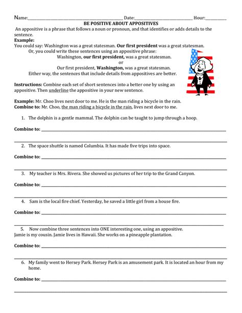 Answers To Identifying Appositive