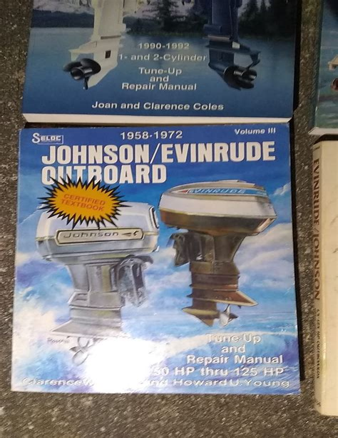Antique Evinrude Outboard Motor Service Manual