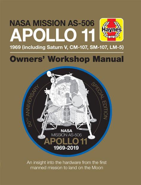 Apollo 11 50th Anniversary Edition Haynes Manuals
