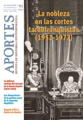 Aportes Revista De Historia Contemporanea 91 Xxxi 2 2016