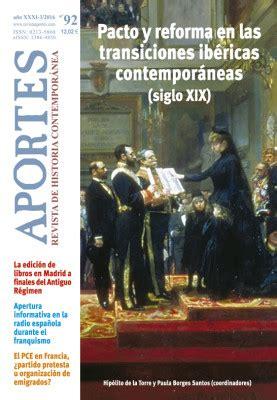 Aportes Revista De Historia Contemporanea 92 Xxxi 3 2016