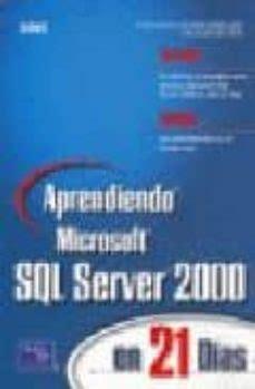 Aprendiendo SQL Server 2000 En 21 Dias