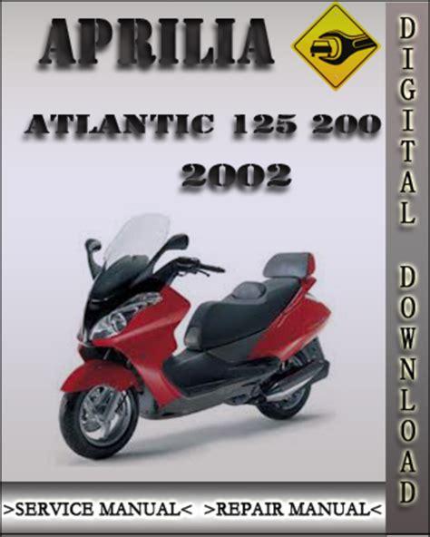 Aprilia Atlantic 125 2002 Factory Service Repair Manual