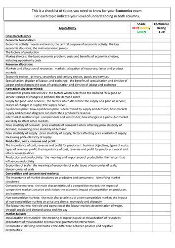 Aqa Economics Teachers Guide Gcse