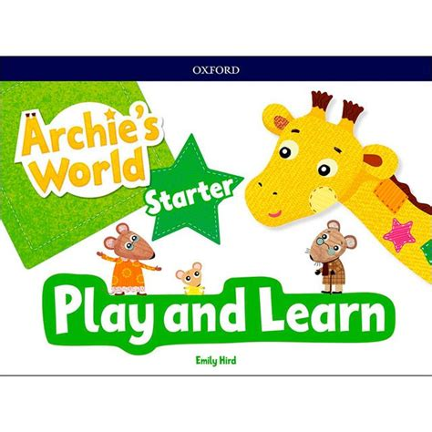 Archie S World Play And Learn Pack A