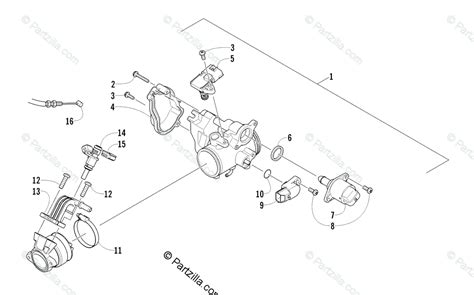Arctic Cat 2011 Atv 450 Efi Timber Camo A2011ick4cush Parts Manual