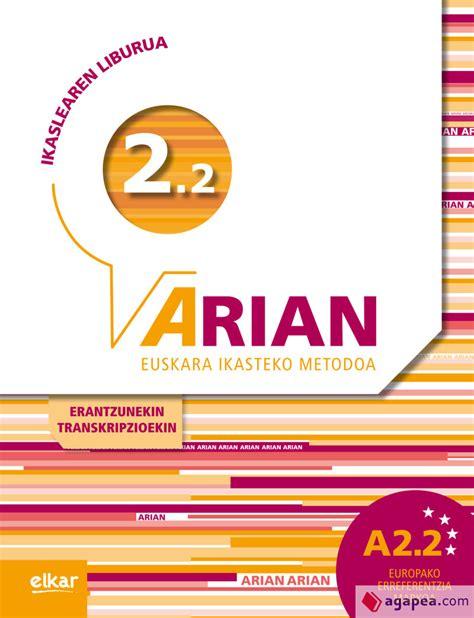 Arian A2 2 Ikaslearen Liburua Cd Audioa Erantzunak Eta Transkripzioak