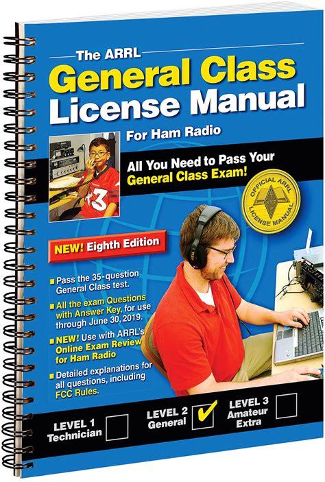 Arrl General Class License Manual