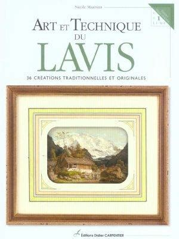 Art Et Technique Du Lavis 36 Creations Traditionnelles Et Originales