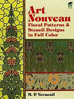 Art Nouveau Stencil Designs Dover Pictorial Archive English Edition