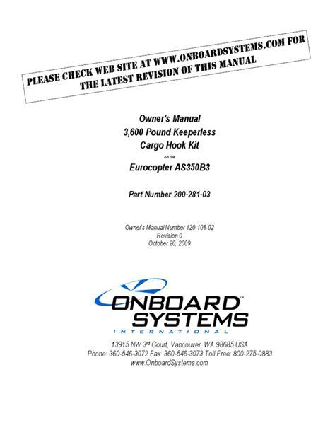 As350b3 Instruction Manual