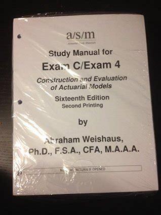 Asm Study Manual For Exam