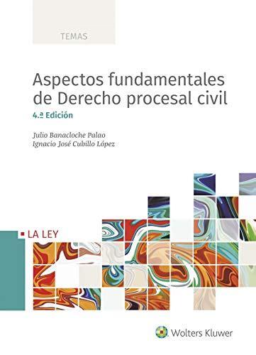 Aspectos Fundamentales De Derecho Procesal Civil 4a Ed 2018 Temas