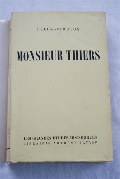 Aspects de m. thiers.