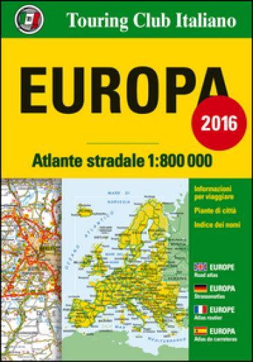 Atlante Stradale D Europa