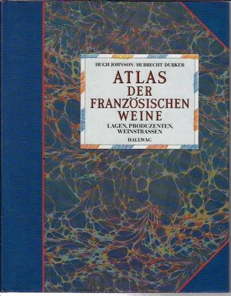 Atlas der franzosischen weine.