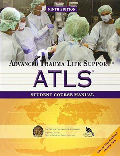 Atls 2013 Manual
