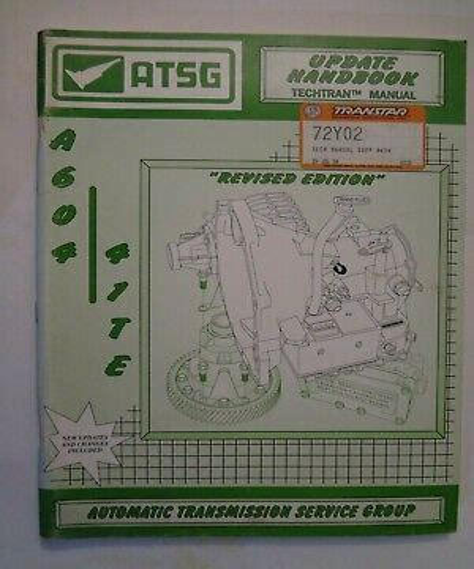 Atsg A604 Manual