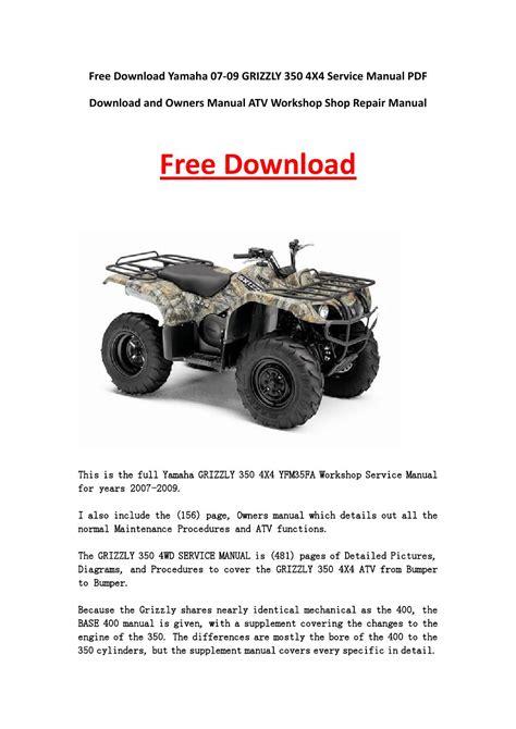 Atv Online Repair Manual