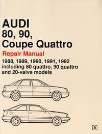 Audi B3 Repair Manuals