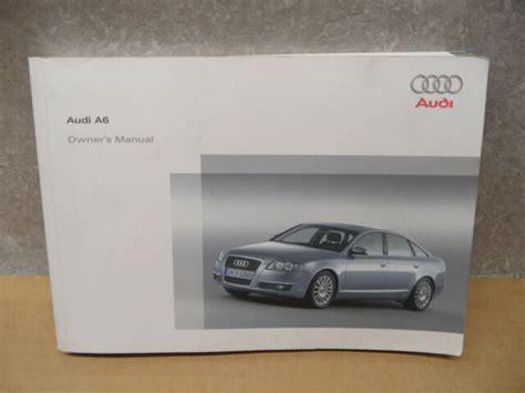 Audi C6 Owners Manual