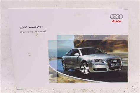 Audi S8 D3 Owner Manual