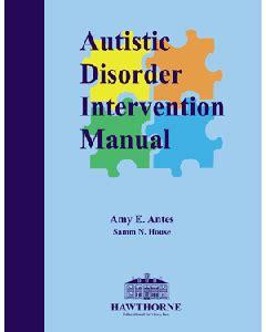 Autistic Disorder Intervention Manual Hawthorne