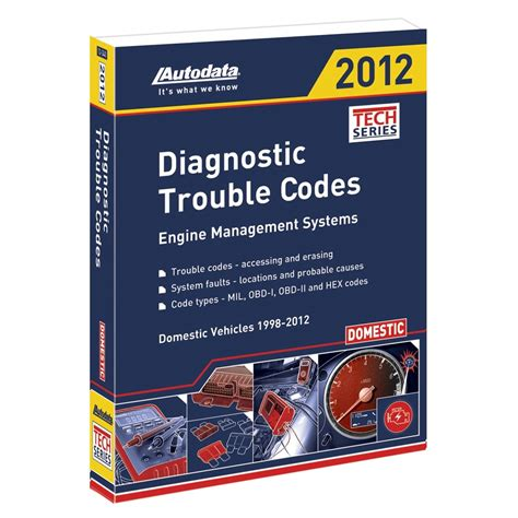 Autodata Domestic Diagnostic Trouble Codes Probable Causes Manual Ad05 340