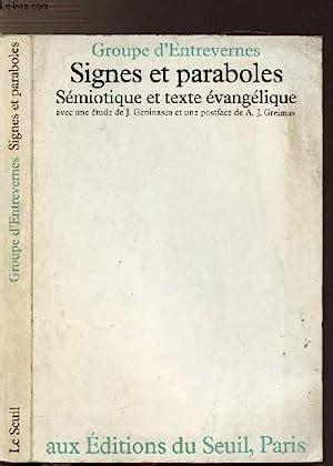 B01690KRFM Signes Et Paraboles Semiotique Et Texte Evangelique