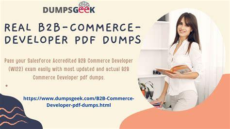 B2B-Commerce-Developer Reliable Exam Sims
