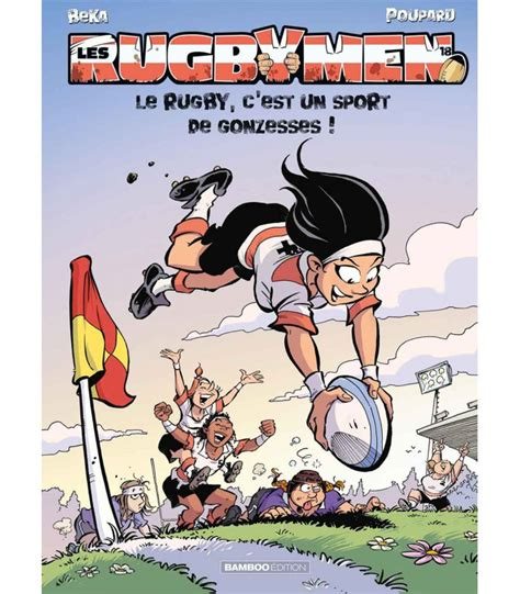 BD - Les rugbymen - Tome 8 - Bamboo