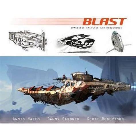 BLAST HC: spaceship sketches and renderings