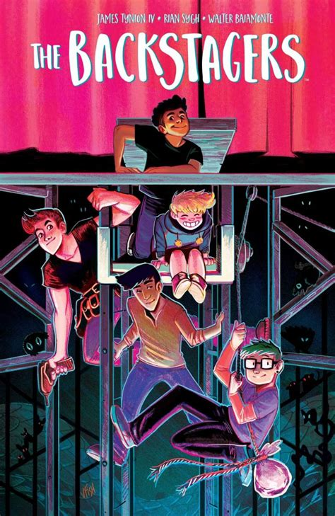 Backstagers Book 1