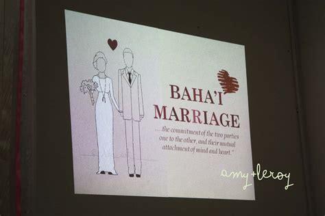 Baha'i Marriage Programme