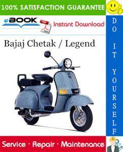 Bajaj Chetak Replacement Parts Manual