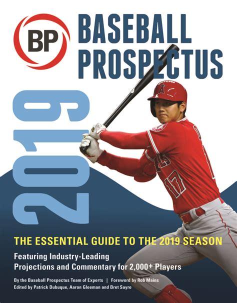 Baseball Prospectus 2019 English Edition