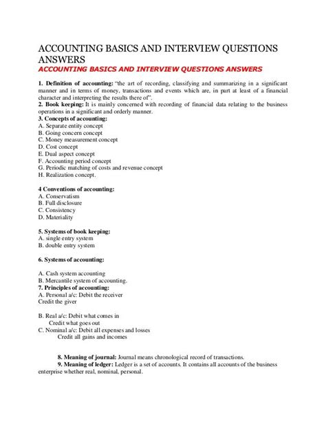 Basic Accounting Questions And Answers - PDF - edu beatsonflash de