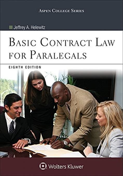 Basic Contract Law For Paralegals Instructors Manual