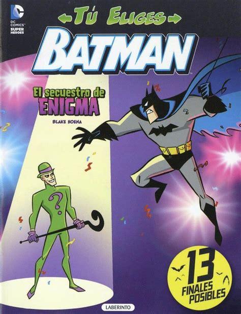 Batman Tu Eliges El Secuestro De Enigma