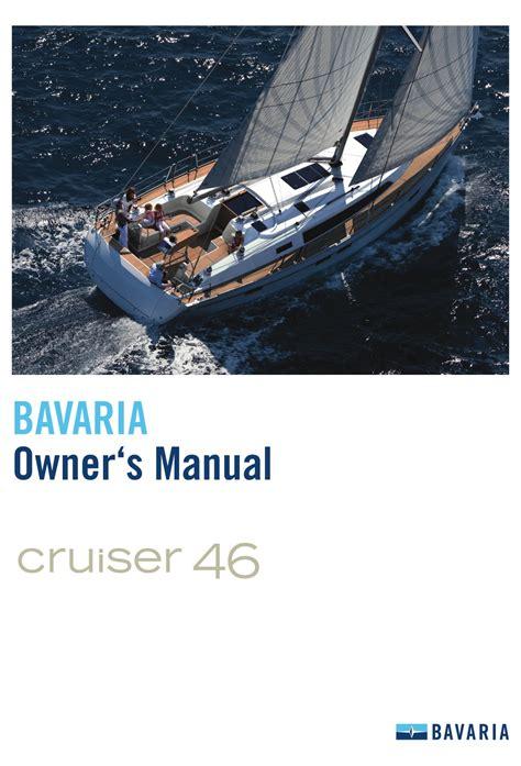 Bavaria 40 Owners Manual