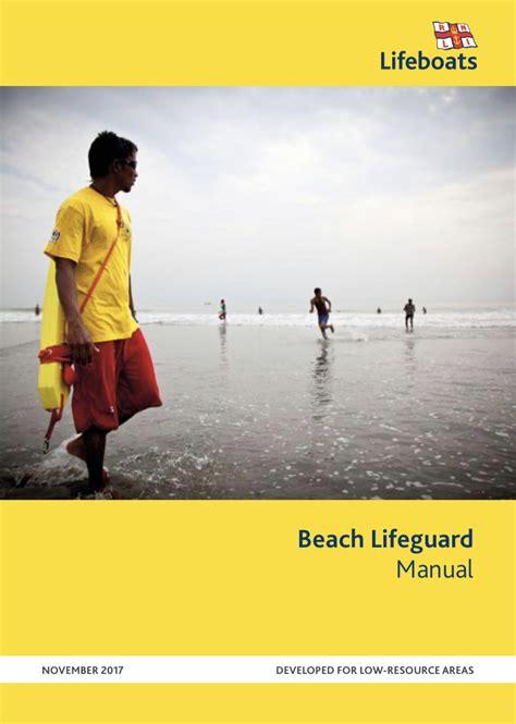 Beach Lifeguard Manual