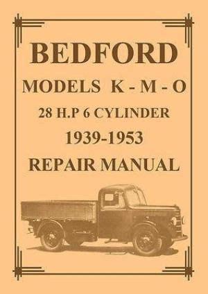 Bedford Truck Manuals