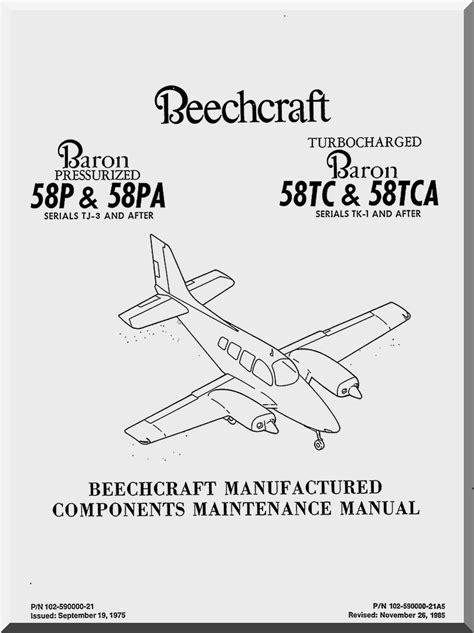 Beechcraft Baron 58 Service And Repair Manual