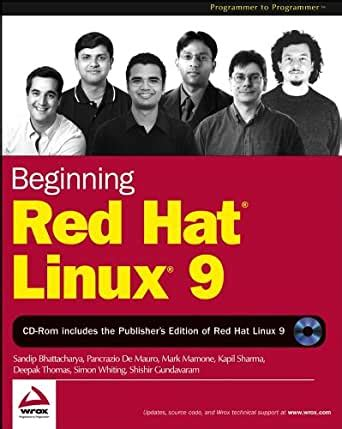 Beginning Red Hat Linux 9 Programmer To Programmer 1st Edition By Bhattacharya