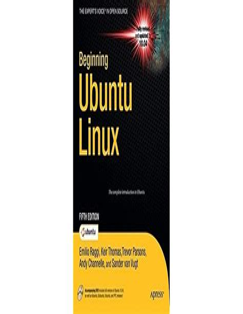 Beginning Ubuntu Linux By Raggi