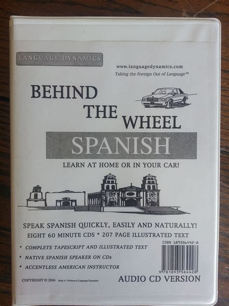 Behind The Wheel Spanishcomplete Illustrated Textanswer Keys8 One Hour
