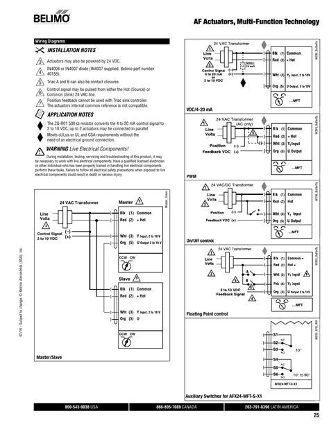 Belimo Valve Wiring Diagrams