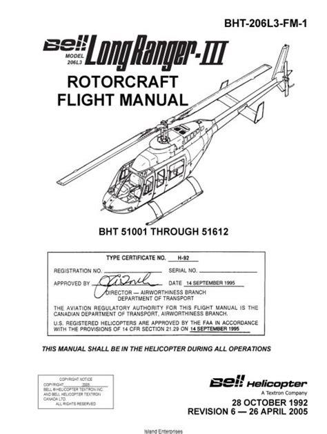 Bell 206 L 3 Rotorcraft Flight Manual
